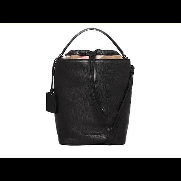 0fdce151c963 Burberry Brit Medium Ashby Black Leather Hobo Bag